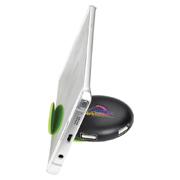 Round USB Hub Phone Stand