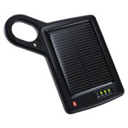 Solar Carabiner Charger and Power Bank