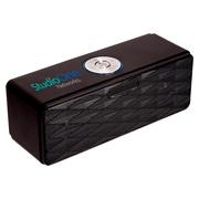 Wireless Mini-Boom Speaker/FM Radio