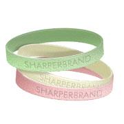 Silicone Rubber Wristband (Glitter - Adult)