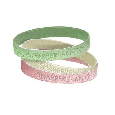 Silicone Rubber Wristband (Glitter - Youth)
