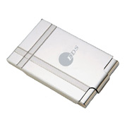 Dual Tone Metal Business Card Case