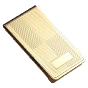 Gold Gift Plated Metal Money Clip