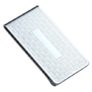 Chrome Plated Metal Money Clip