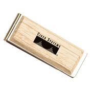 Goodfaire Natural Wood Money Clip