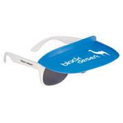 Two-Tone Visor Sunglasses Travel Case