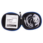 Tough Tech Pouch With Earbuds and Lens Wipe