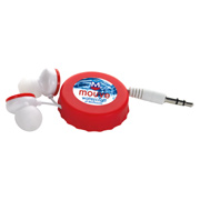 Soda Pop Retractable Earbuds