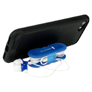 Ear Bud Wrap Phone Stand
