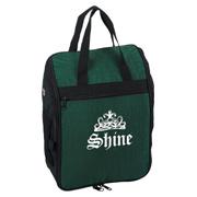 Crinkled Nylon Golf Shoe Bag