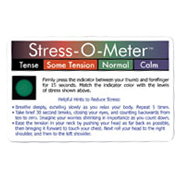 USA Stress-O-Meter Deluxe Card