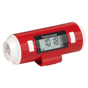 Flashlight and Siren Pedometer