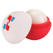Custom Combination Rubber Lip Balm Ball