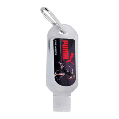1 oz. Hand Sanitizer Gel With Carabiner