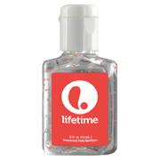 0.5 oz. Single Color Moisture Bead Sanitizer in Clear Bottle