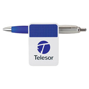 Clipa II Fidge Memo/Chip Clip/Ballpoint Pen