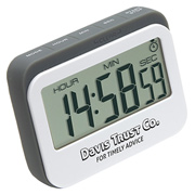 Soft-Touch Widescreen Kitchen Timer and Clock