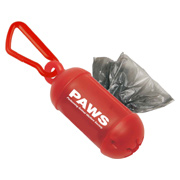 Bag Dispenser With Carabiner