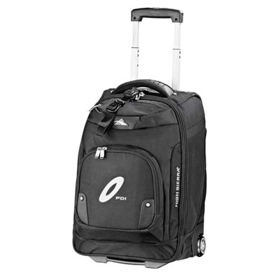 """High Sierra 21"""" Wheeled Carry-On Computer Upright"""