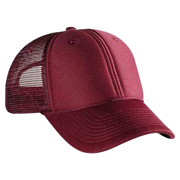 Polyester Foam Front Low Profile Style Mesh Back Cap