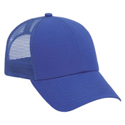 Superior Cotton Twill Six Panel Low Profile Mesh Back Trucker Hat